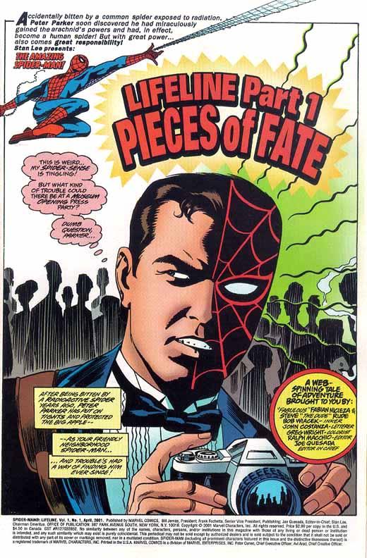 Peter Parker, por Steve Rude, Bob Wiacek y Greg Wright
