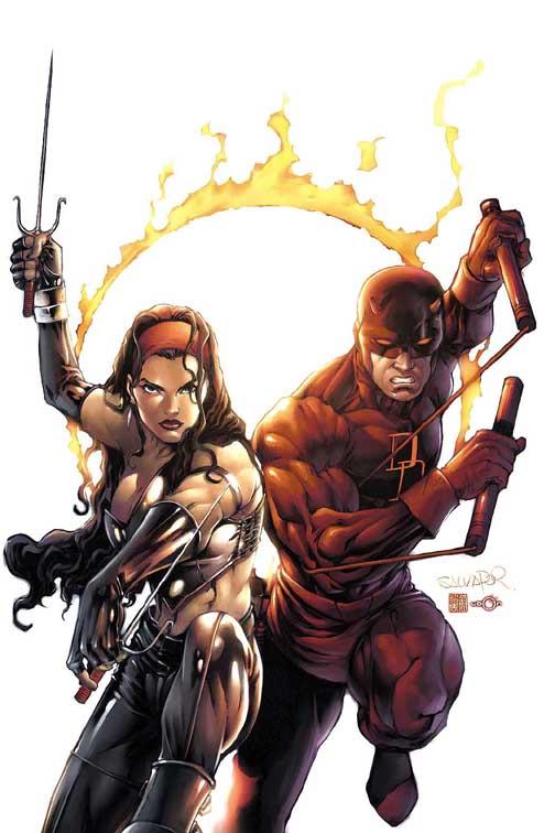 Elektra y Daredevil