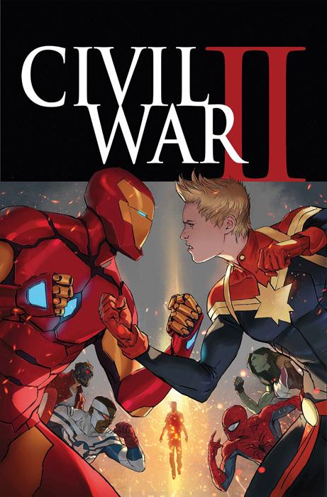 Portada de Civil War II