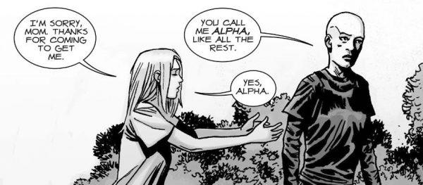 Lydia y Alpha.