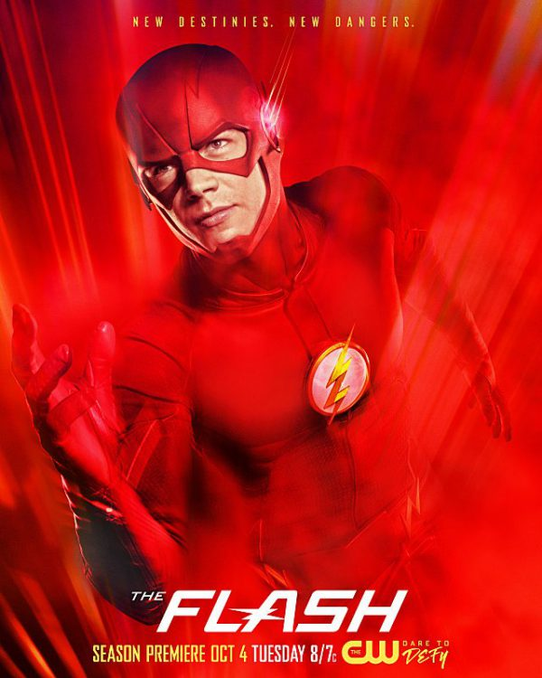 Poster de la tercera temporada de The Flash