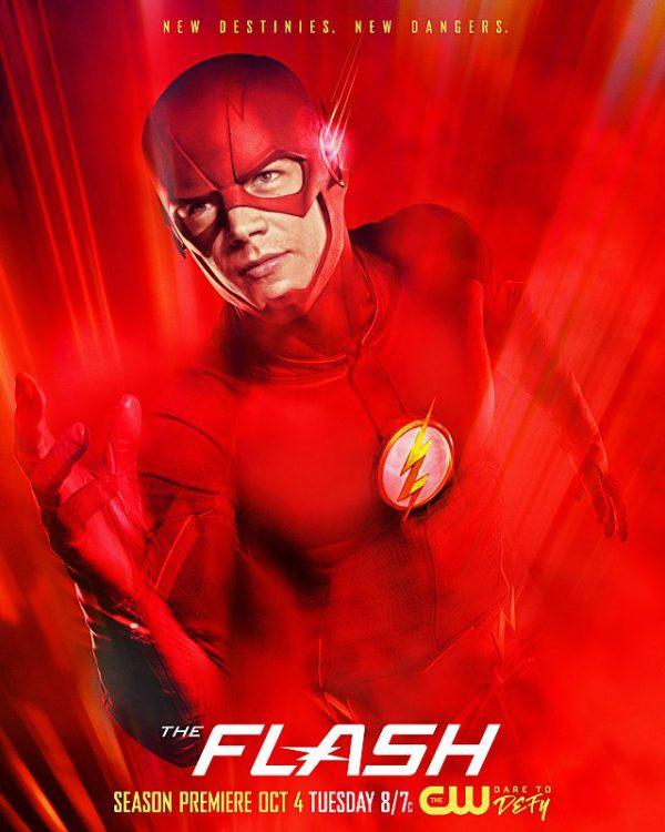 Poster de la tercera temporada de The Flash