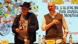 Miller y Azzarello en el pasado Salón del Cómic de Barcelona