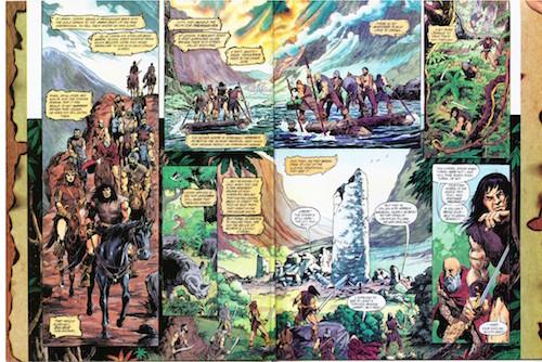 Conan regresa a la tumba de Rotath
