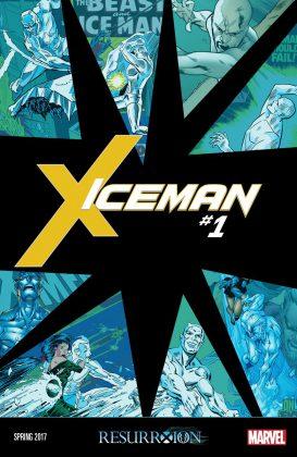 Portada de Iceman #1