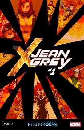 Portada de Jean Grey #1