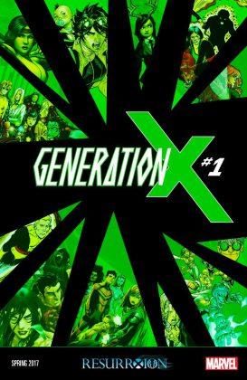 Portada de Generation X #1