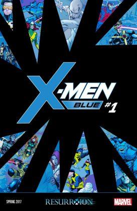 Portada de X-Men Blue #1