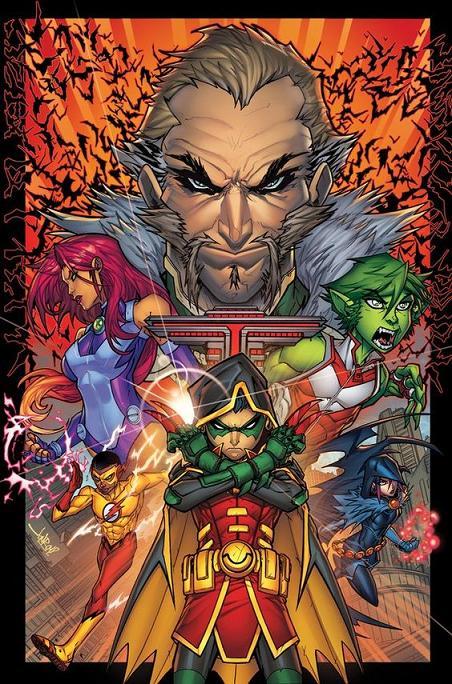Ultima portada de Jonboy Meyers, Teen Titans#1
