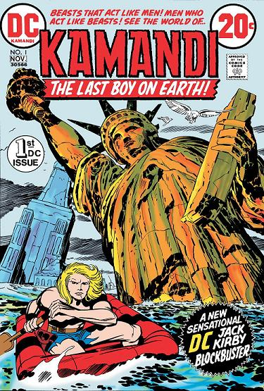 Portada Kamandi: The last boy and the earth#1