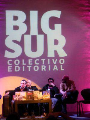 Presentación del Colectivo Editorial Big Sur (Foto: Docta Cómics)