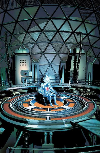 ¿A quién recuerda el Capitán Atom? ¿A quién influyó?
