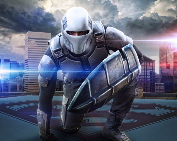 James Olsen caracterizado como Guardián en Supergirl