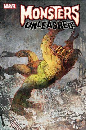 Sienkewicz Monsters Unleashed