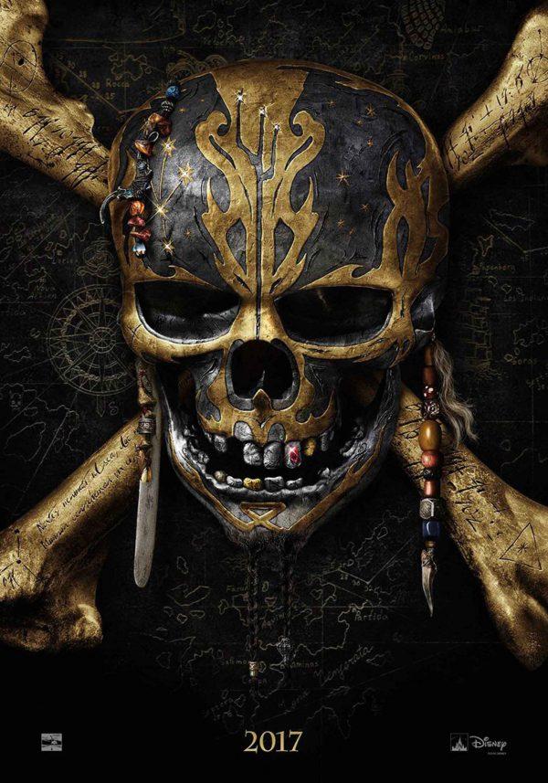 Teaser poster de Piratas del Caribe: La Venganza de Salazar