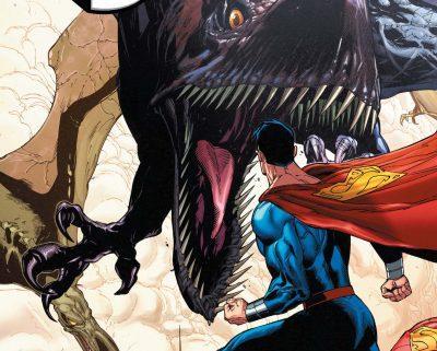 Superman en la Isla de los Dinosaurios