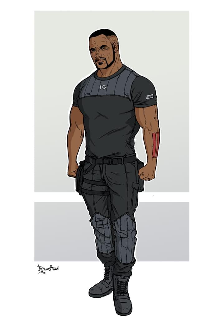 Character Design Ma : Dc rebirth wildstorm y warren ellis de vuelta en