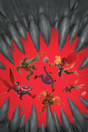 Portada de Avengers #1.MU