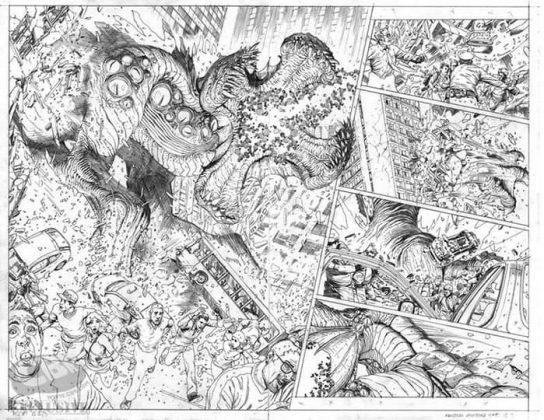 Páginas 2 y 3 de Monsters Unleashed