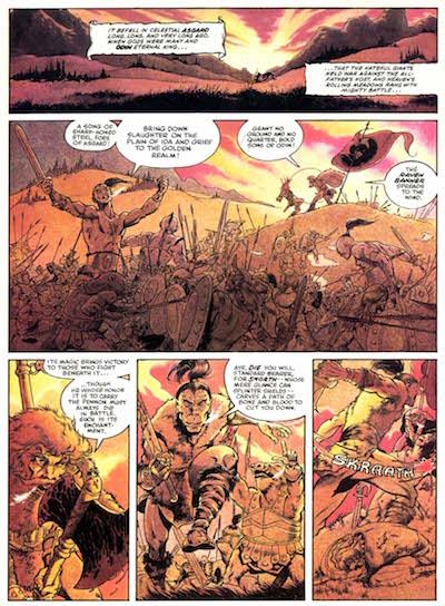 Las eternas batallas entre Asgard y sus enemigos
