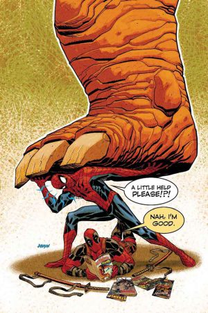 Portada de Spider-Man/Deadpool #1.MU