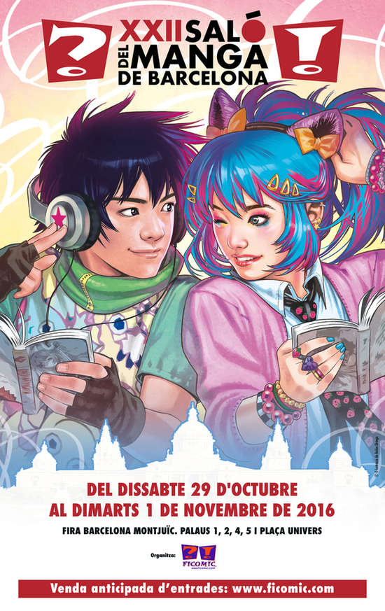 XXII salon del manga de barcelona