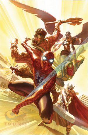 Avengers #4 de Alex Ross
