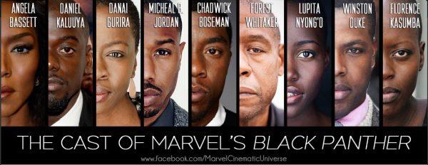El impresionante reparto de Black Panther