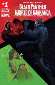 Black Panther: World of Wakanda final cover