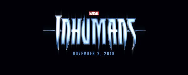 El logo de Inhumanos publicado durante la presentación de la Fase 3