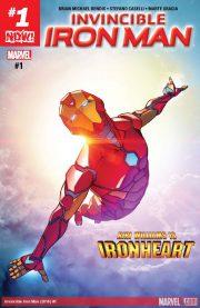 Portada de Invincible Iron Man #1