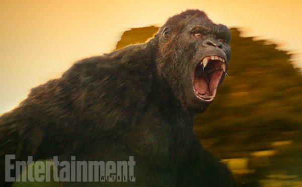 Primera imagen del simiesco protagonista de Kong: Skull Island