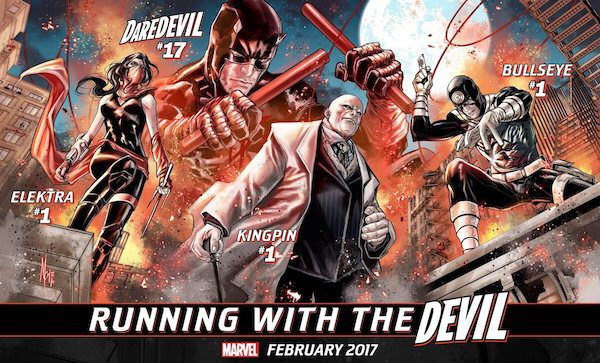 Running With the Devil promo art