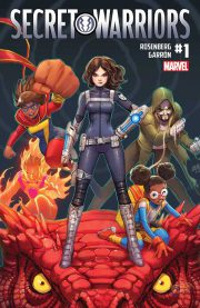 Portada de Secret Warriors #1