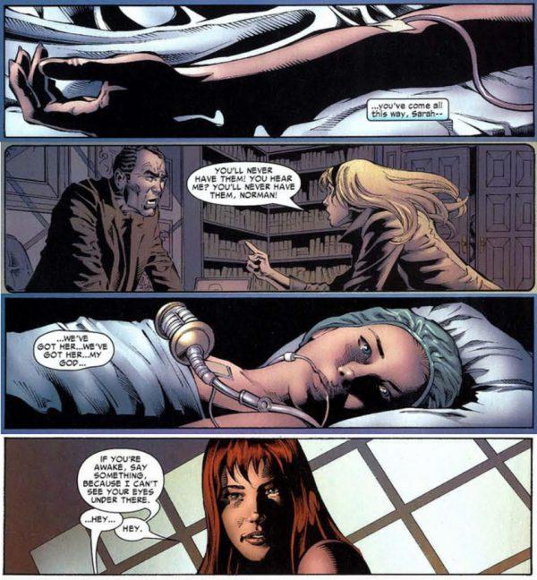 El motivo de la muerte de Gwen Stacy.