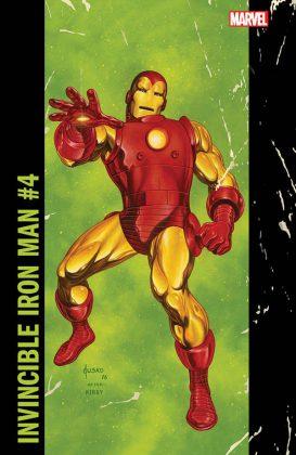 Invincible Iron Man #4