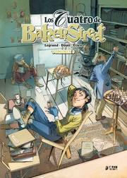 POrtada de Los cuatro de Baker Street 3