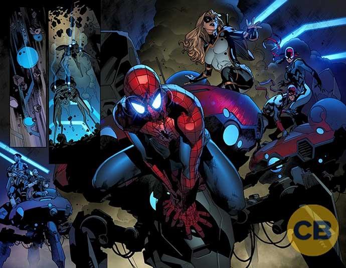 Interiores de Amazing Spider-Man #25