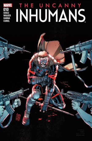 Uncanny Inhumans 10 Cover