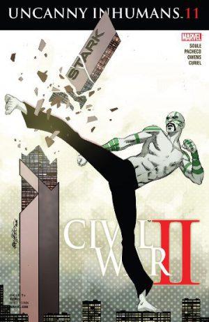 Uncanny Inhumans 11 Cover
