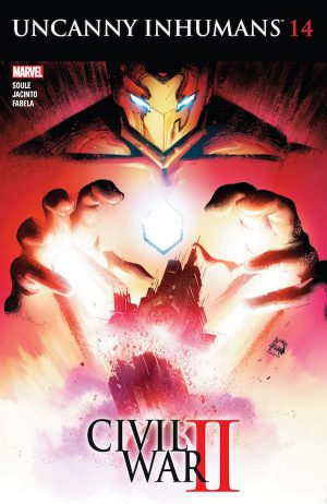 Uncanny Inhumans 14 Cover