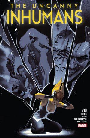 Uncanny Inhumans 16 Cover
