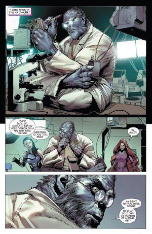 Uncanny Inhumans Beast