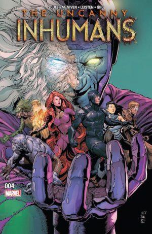 Uncanny Inhumans 4 Cover