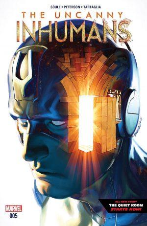 Uncanny Inhumans 5 Cover