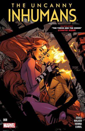 Uncanny Inhumans 8 Cover