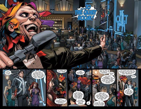 Uncanny Inhumans Quiet Room