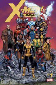 Portada de X-Men Prime