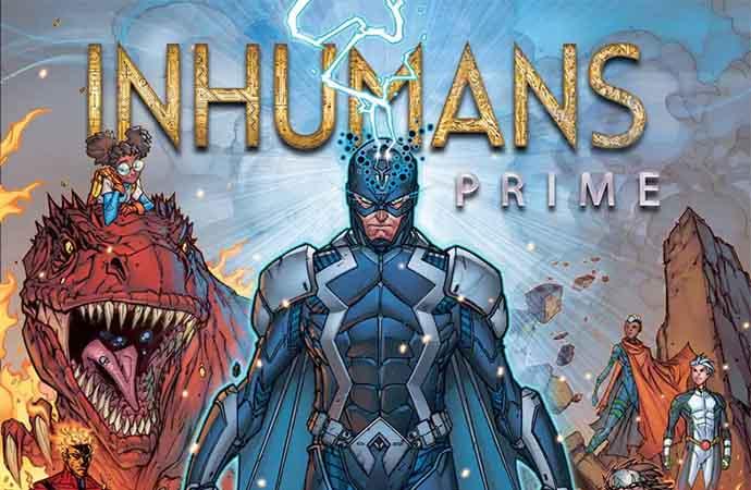 Portada de Inhumans Prime #1
