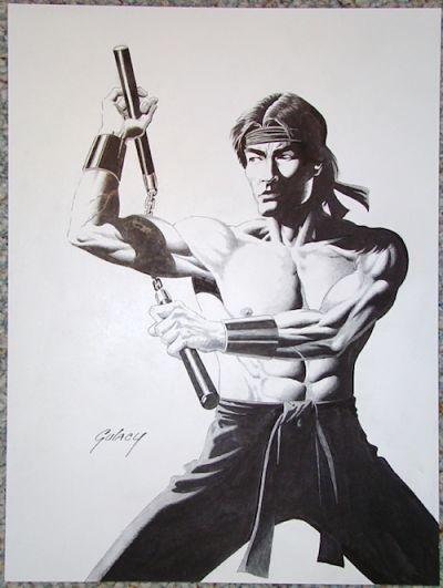 Ilustración de Paul Gulacy